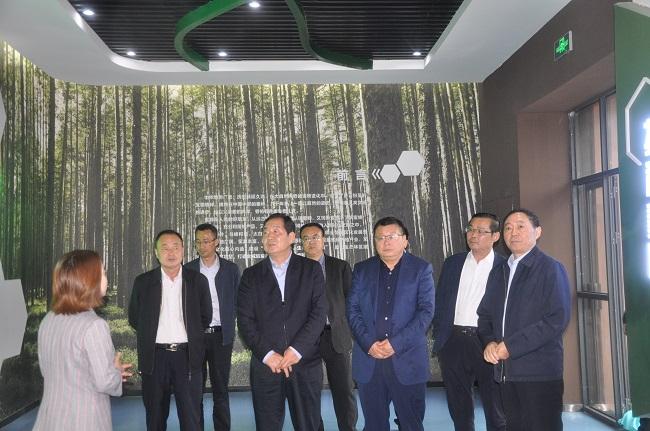 省林业局刘保华副局长到优德88 ios局调研指导工作