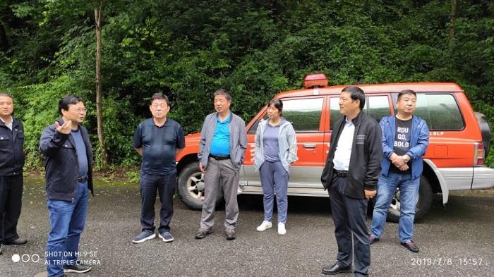 省森管局防火安全处到 优德88 ios局督导检查安全生产和防汛工作